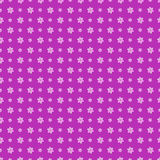 Seamless vector pattern. Background with elements of flowers ove Stock Photos