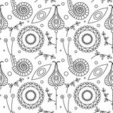 Seamless vector pattern.  Royalty Free Stock Images