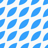Seamless vector pattern with blue petals stock photo