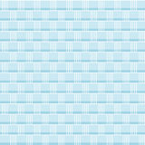 Seamless vector pattern - blue weave Royalty Free Stock Image