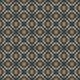 Seamless pattern with boomerangs and stars Stock Photo