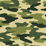 Seamless vector pattern camouflage coloring Royalty Free Stock Photo