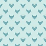 Seamless vector pattern with chihuahua. Royalty Free Stock Photo