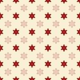 Seamless vector pattern for christmas , holiday cards, wrapping royalty free illustration