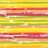 Seamless vector pattern with color brush stripes Stock Photo