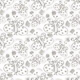 Seamless vector pattern. Royalty Free Stock Photos