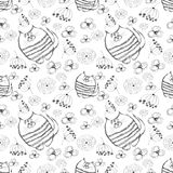 Seamless vector pattern.  Stock Photography
