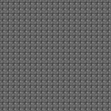 Seamless vector pattern. Dark grey geometrical background with hand drawn squares. Stock Photo