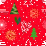 Festive Christmas background. Stock Photo