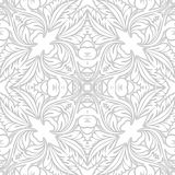 SEAMLESS VECTOR PATTERN DESIGN BACKGROUND 3D EFFECT. Seamless texture. Figure 3D - the structure of the atom Stock Images