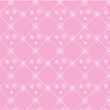 Seamless vector pattern floral pink background Stock Photo