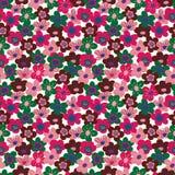 Seamless vector pattern with flowers of sakura vector illustration