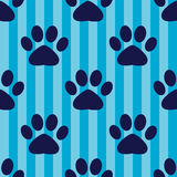 Seamless vector pattern with footprints. Seamless vector pattern with animal footprints Stock Photography
