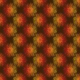 Seamless vector pattern geometric abstraction dandelion stock illustration