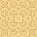 Seamless vector pattern with geometric elements stock illustration