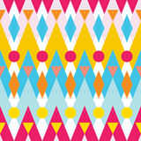 Seamless vector pattern of geometric elements - chevrons, zigzag Stock Photos