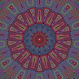 Seamless vector pattern. geometric wallpaper Royalty Free Stock Photos
