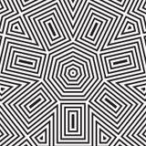 Seamless vector pattern. geometric wallpaper Stock Photography