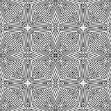 Seamless vector pattern. geometric wallpaper Royalty Free Stock Images