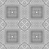 Seamless vector pattern. geometric wallpaper Royalty Free Stock Photos