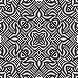 Seamless vector pattern. geometric wallpaper Stock Photos