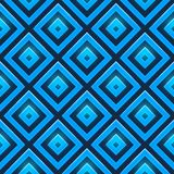 Seamless vector pattern with glossy squares Stock Image