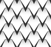 Seamless vector pattern. Graphic background. Royalty Free Stock Photo