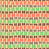 Seamless vector pattern, graphic illustration Royalty Free Stock Images
