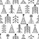 Seamless vector pattern, graphic illustration Royalty Free Stock Photo