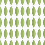 Seamless vector pattern with green petals Stock Image