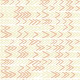 Seamless vector pattern with ikat ribs in beige colours. For textile, ceramic, wrapping Royalty Free Stock Photo