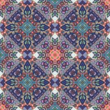 Seamless vector pattern in indian style. Fashion print Royalty Free Stock Images