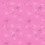Seamless vector pattern with Jerusalem artichokes on pink background Royalty Free Stock Image
