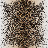 The seamless vector pattern leopard`s skin. The vector picture. EPS 8 Royalty Free Stock Photography