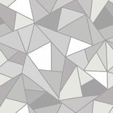 Seamless vector pattern, lined asymmetric geometric background with rhombus, triangles. Print for decor, wallpaper, packaging, wra. Pping, fabric. Triangular royalty free illustration