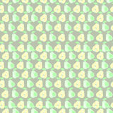 Seamless vector pattern, mat symmetrical background with pears Stock Photography