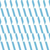 Seamless vector pattern. Monochrome light blue and white ornament background. royalty free stock image