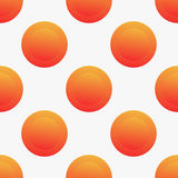 Seamless vector pattern with orange circles stock photos