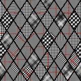 Glen Plaid pattern. stock illustration