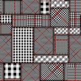 Glen Plaid pattern. vector illustration