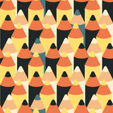 Seamless vector pattern with  pencils Stock Photos