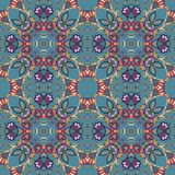 Seamless vector pattern in persian style. Fashion design Royalty Free Stock Photography