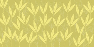 Seamless vector pattern - Plants Royalty Free Stock Photo