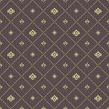 Seamless Vector Pattern With Royal Lily Royalty Free Stock Images