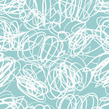 Seamless vector pattern with scribbles Royalty Free Stock Images