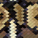 Skin of a snake Python. Seamless vector pattern. Royalty Free Stock Image
