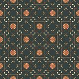 Seamless geometric pattern with arrows, spears, an Stock Photography