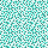 Seamless vector pattern with squares. Simple checkered graphic design. drawn background with little decorative elements. Print for Stock Photography