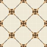 Seamless vector pattern with steel bracing rod  Stock Photography
