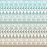 Seamless vector pattern in the style of boho or Stock Images